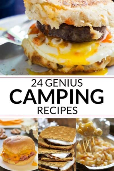 Collection of camping recipes