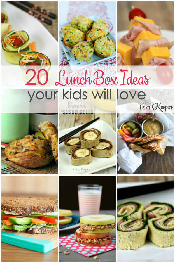 20 Lunch Box Ideas Your Kids Will Love