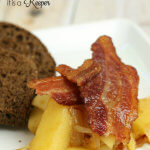 Bacon Fried Apples