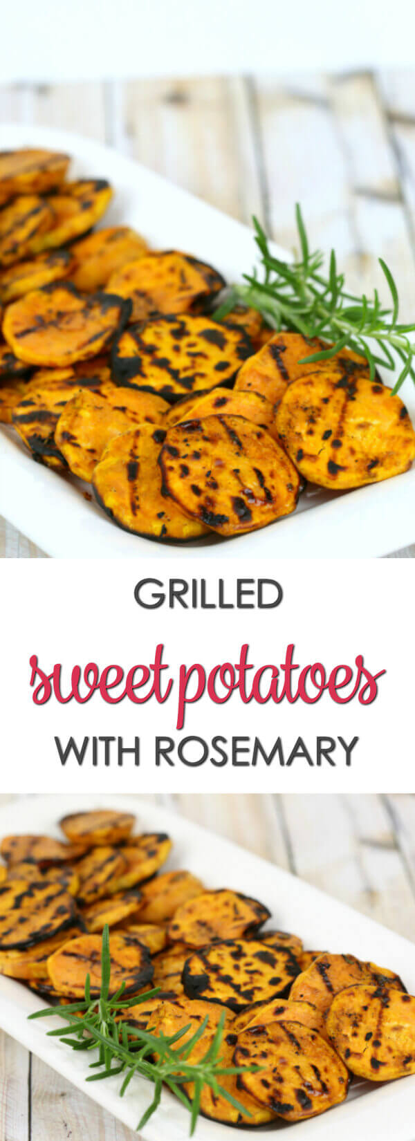 Grilled Sweet Potatoes - this is one of my favorite easy grilled vegetable recipes