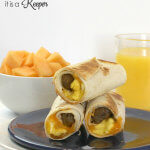 Sausage and Egg Breakfast Taquitos