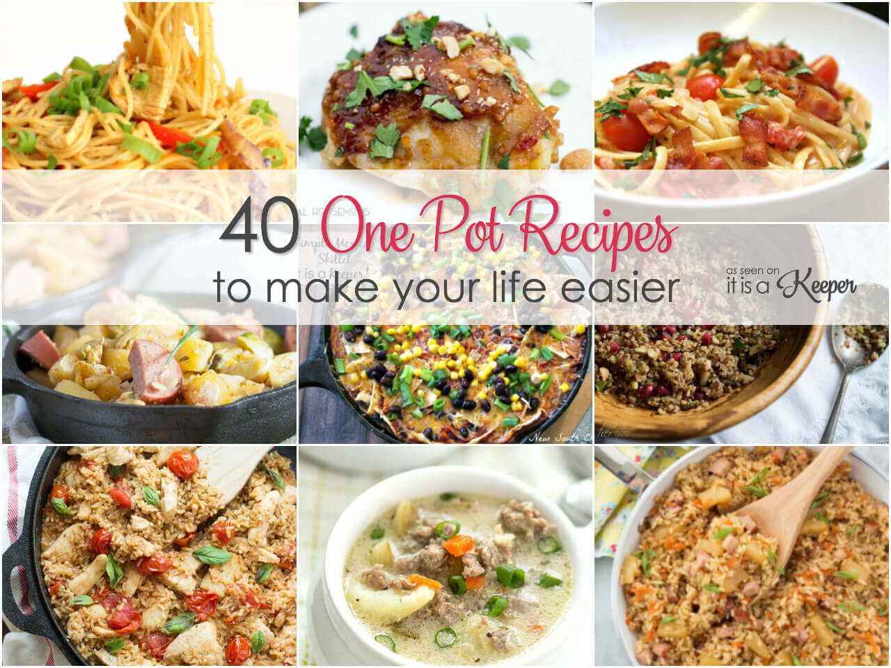 40 One pot recipes to make your life easier on busy nights