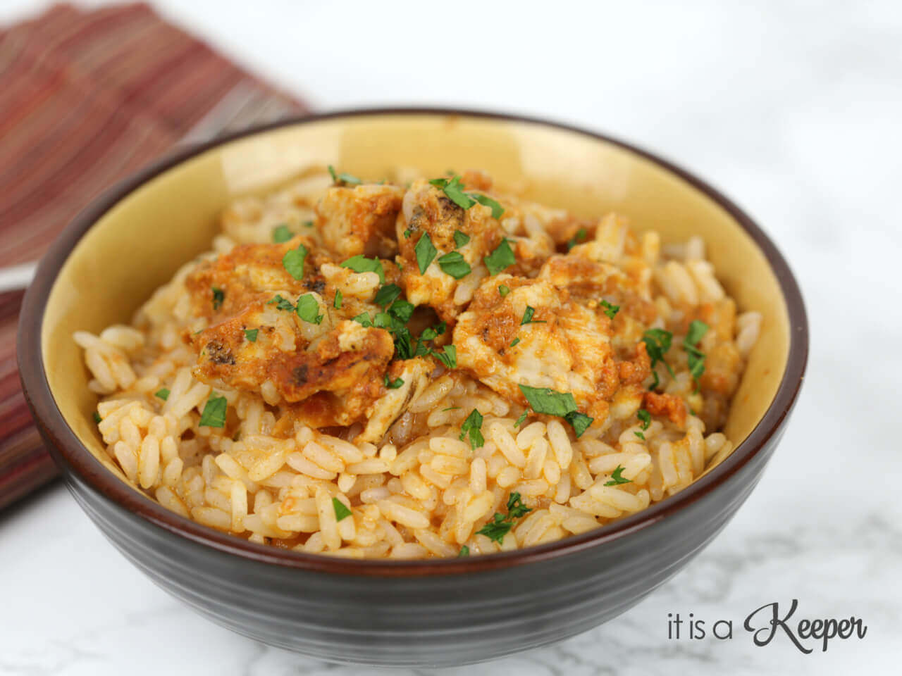 Easy Chicken Tikka Masala - this quick and easy recipe is ready in under 30 minutes
