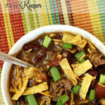 Slow Cooker Taco Chili - these easy crock pot recipe is perfect for chilly days