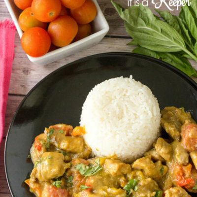 Stir Fried Curry Chicken