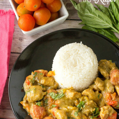 Stir Fried Curry Chicken - this easy 30 minute recipe is a quick dinner idea that is packed with flavor