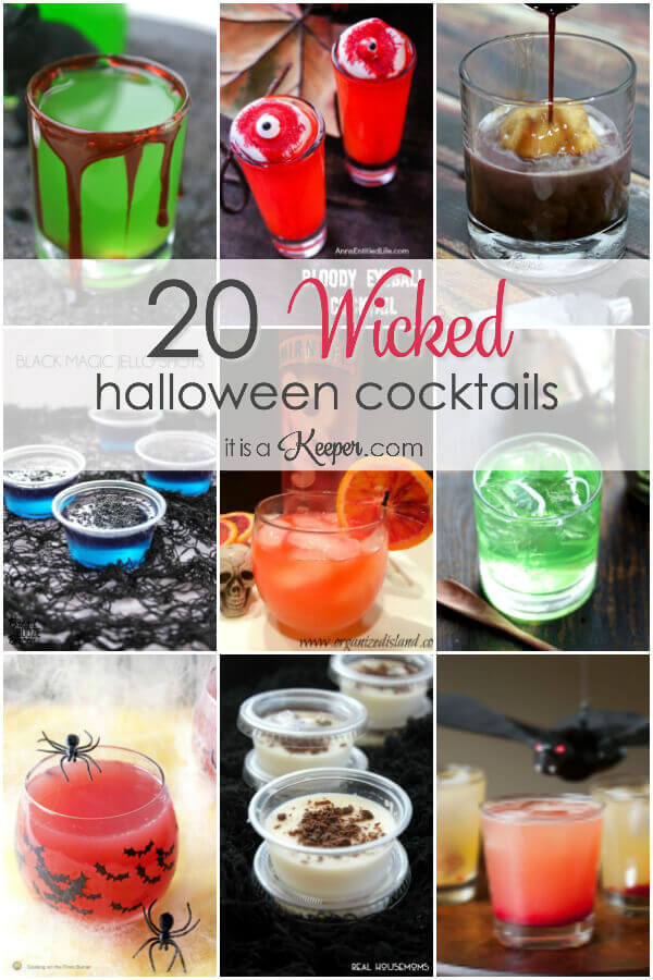 20 Wicked halloween cocktails