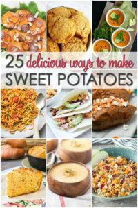 25 delicious ways to make sweet potatoes