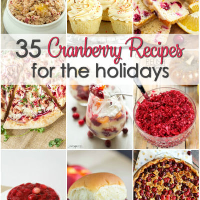 Cranberry Recipes for the Holidays