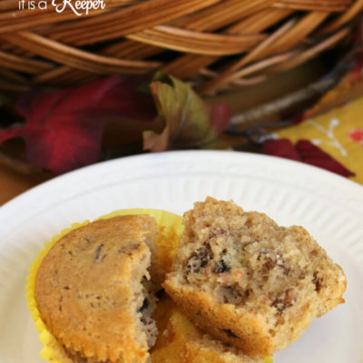 Cranberry Pecan Muffins - this easy recipe is perfect for breakfast or a quick snack