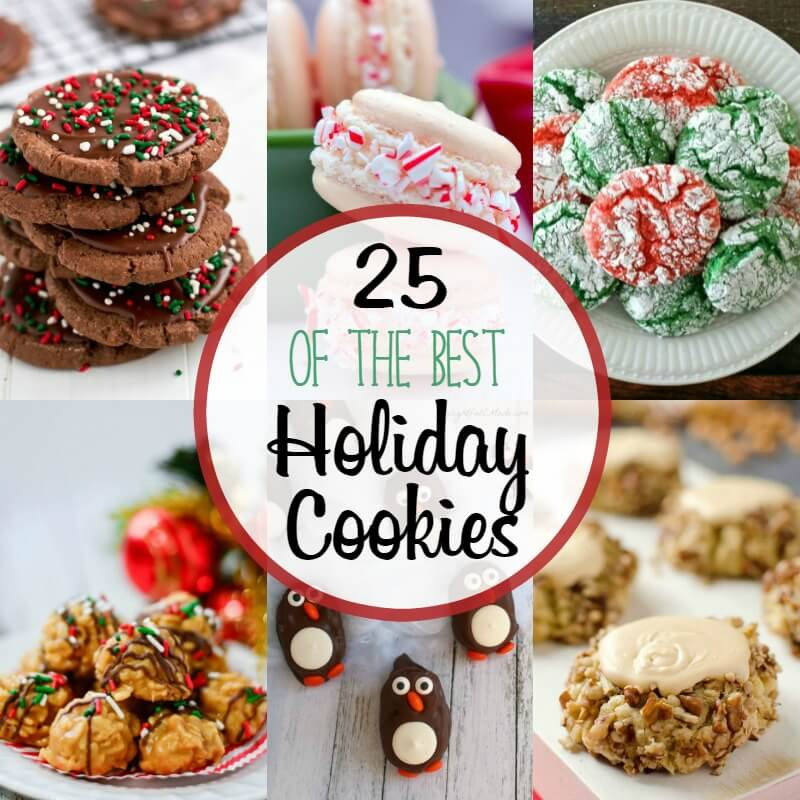 25 of the Best Holiday Cookies and a $400 Cash Giveaway