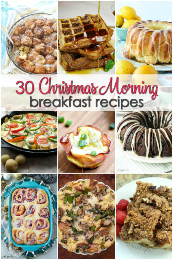 Christmas Brunch Recipes.30 Christmas Morning Breakfast Recipes It Is A Keeper