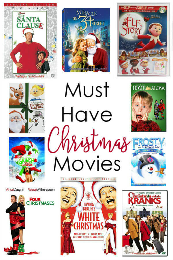 Must have Christmas movies for all ages