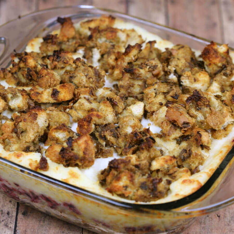 With layers of yummy Thanksgiving leftovers, this Leftover Thanksgiving Casserole will quickly become one of your favorite easy Thanksgiving casseroles.