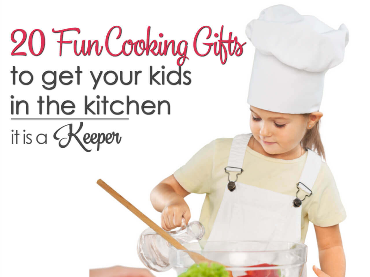 20 fun cooking gifts to get kids in the kitchen