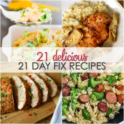 Easy 21 Day Fix Meals