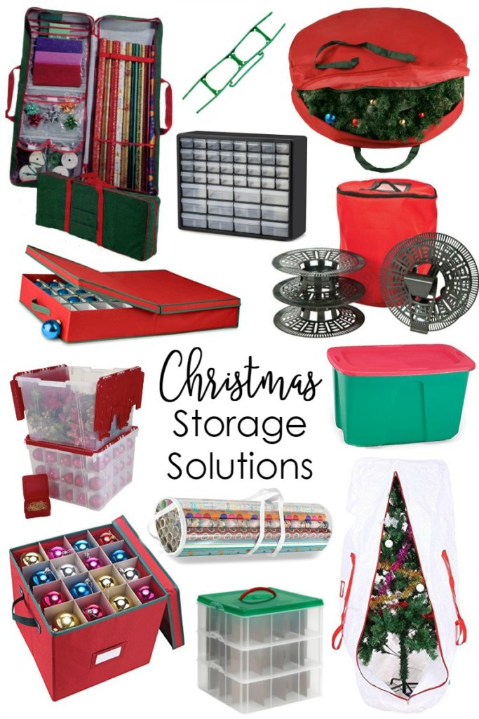 Smart Christmas decoration storage ideas