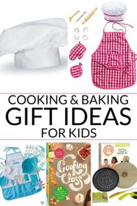 Collection of kids cooking gifts
