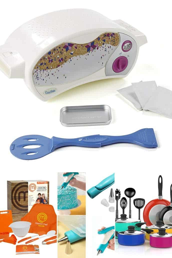 collection of cooking gifts for teens