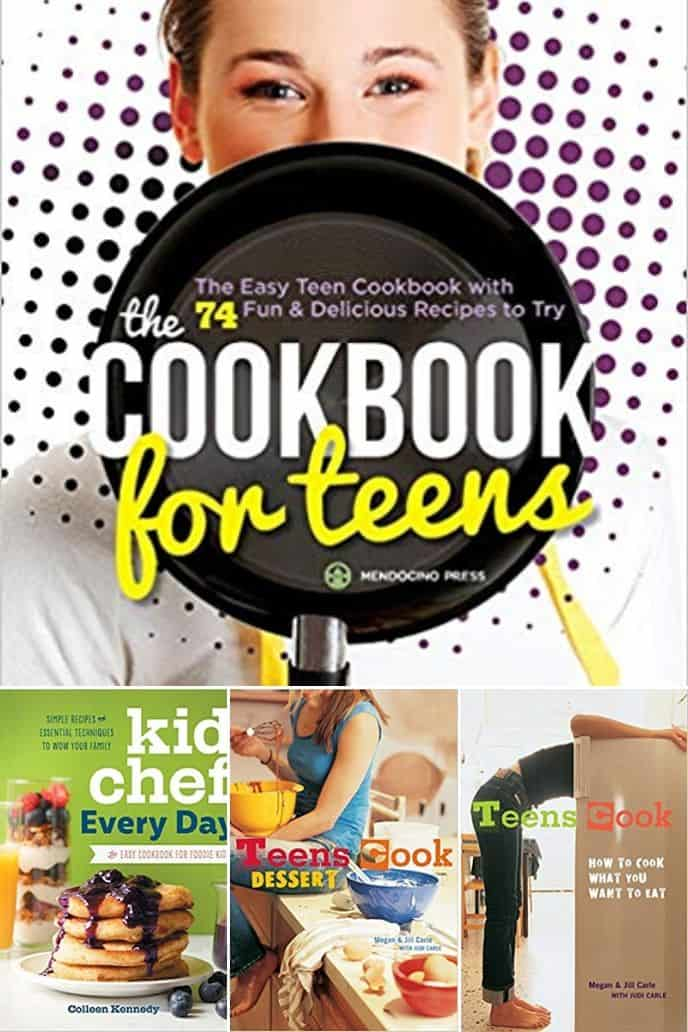 collection of cooking gifts cookbooks for teens