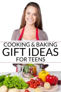 cooking gifts with a teen and vegetables