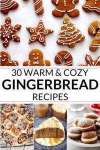 collection of gingerbread recipe