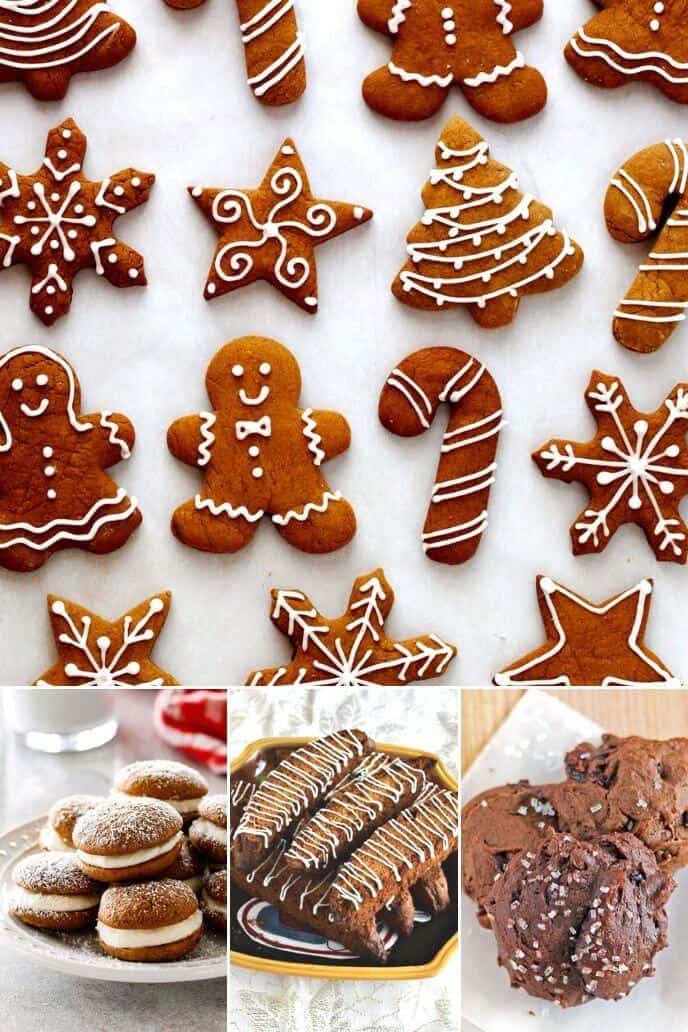 collection of gingerbread cookie recipes