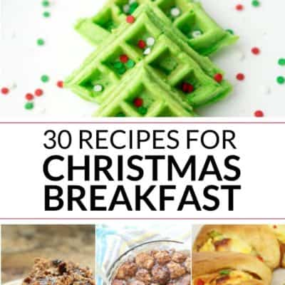 30 Christmas Breakfast Recipes