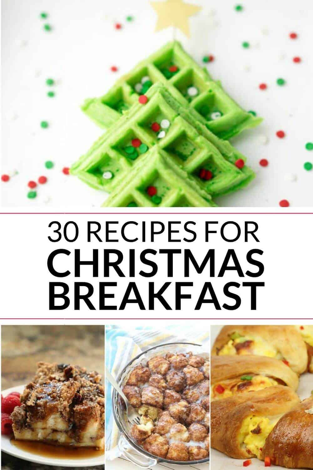 COLLECTION OF CHRISTMAS BREAKFAST RECIPES