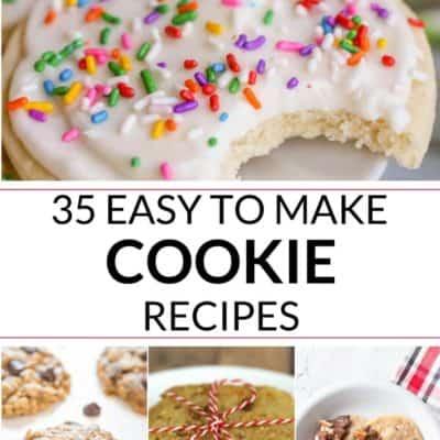 35 Best Cookie Recipes