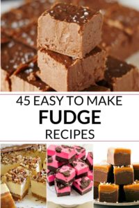 COLLECTION OF EASY FUDGE RECIPES