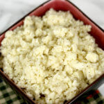 Parmesan Cauliflower Rice