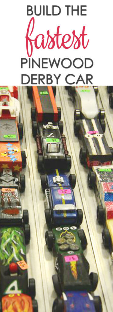 Build Pine Wood Derby Race Cars