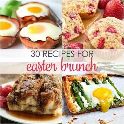 30 Easter Brunch Recipes