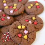 Valentine Boxed Cake Mix Cookies