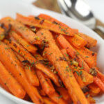 Garlic Roasted Carrots