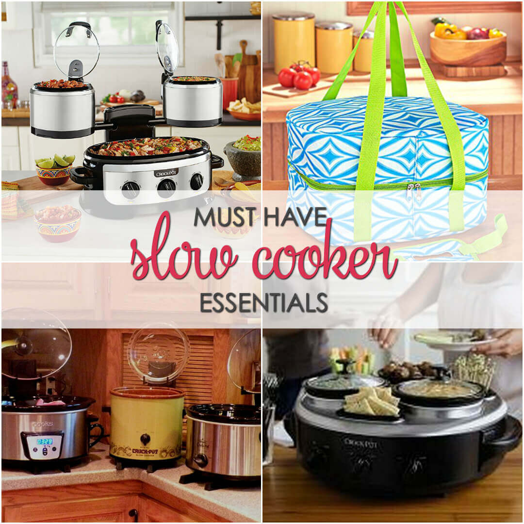 Must Have Slow Cooker Essentials - If you love using your crock pot you have to check out these innovative items
