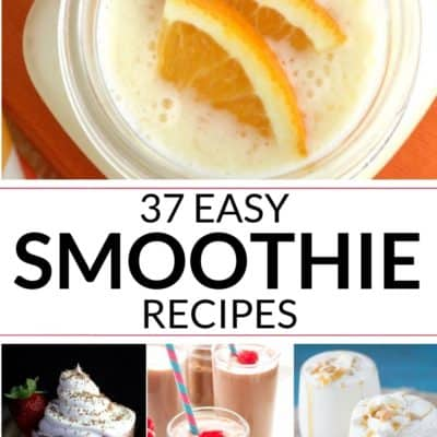 40 Best Smoothie Recipes