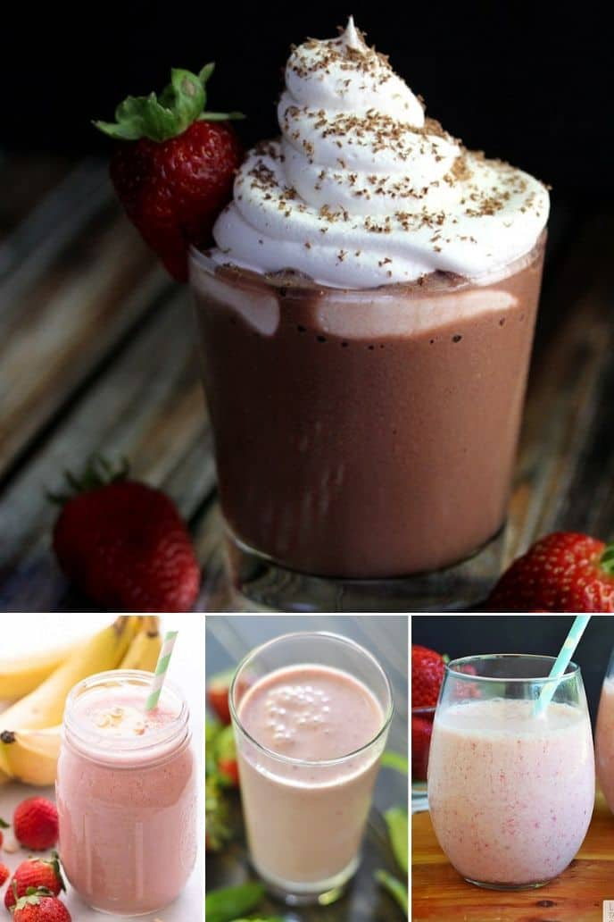 collection of berry smoothie recipes