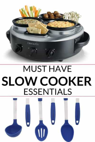 collection of best slow cooker accessories