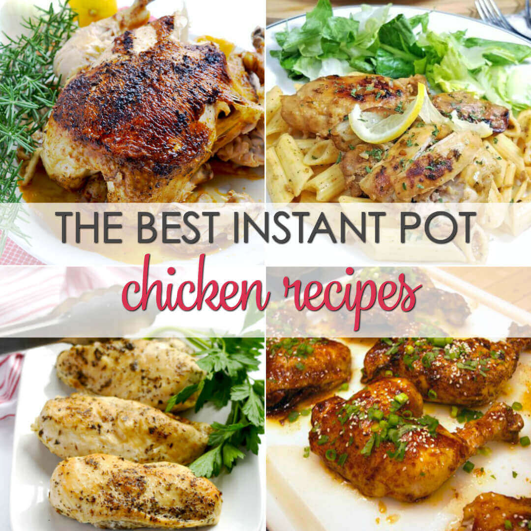 The Best Pressure Cooker Chicken Recipes - Get dinner on the table fast with these easy insta pot recipes for chicken