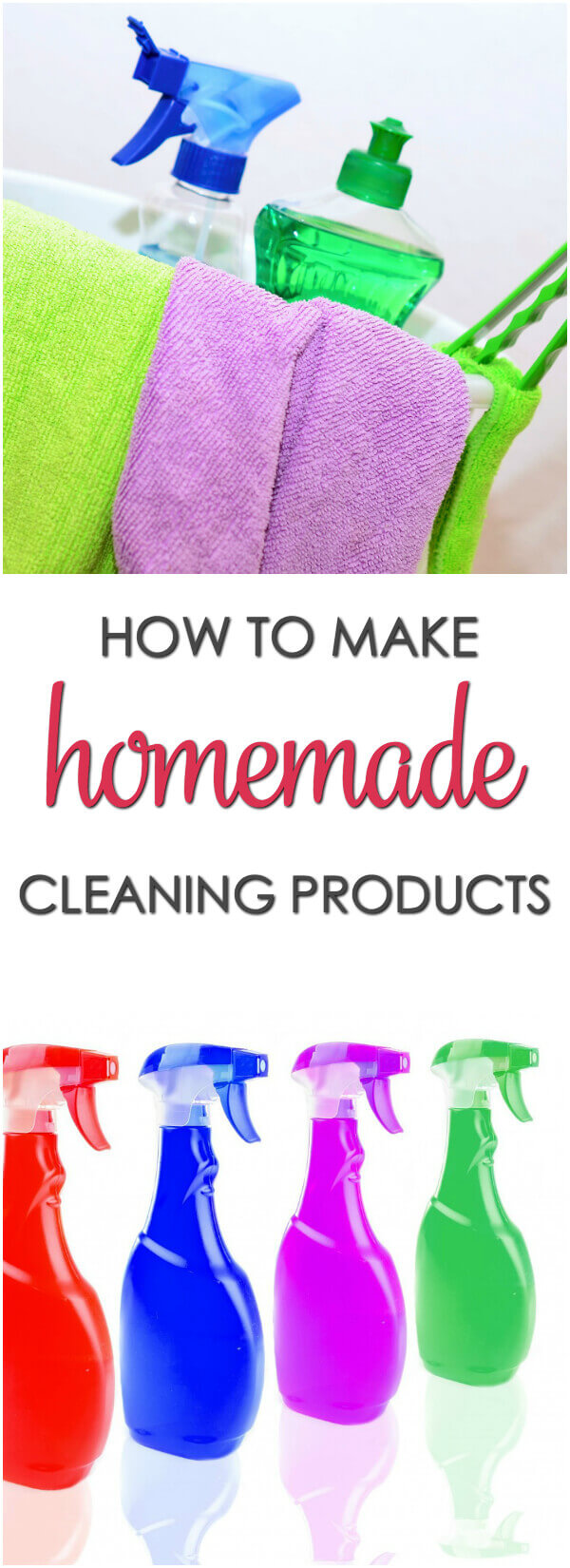 How to make homemade cleaning products - get 15 homemade household cleaning products you can use right now