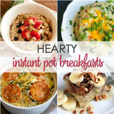 15 Instant Pot Breakfast Recipes