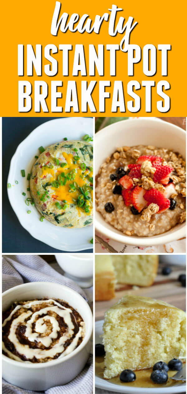 If you think the Instant Pot is only for dinner, rethink what you know. Here are 15 Instant Pot Breakfast Recipes perfect for any morning.  #itisakeeper #recipe #recipes #easyrecipe #quickrecipe #breakfast #instantpot #pressurecooker #30minuterecipe #eggs #morning #healthy