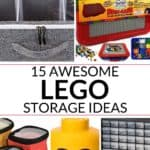 a collection of 15 amazing lego storage ideas