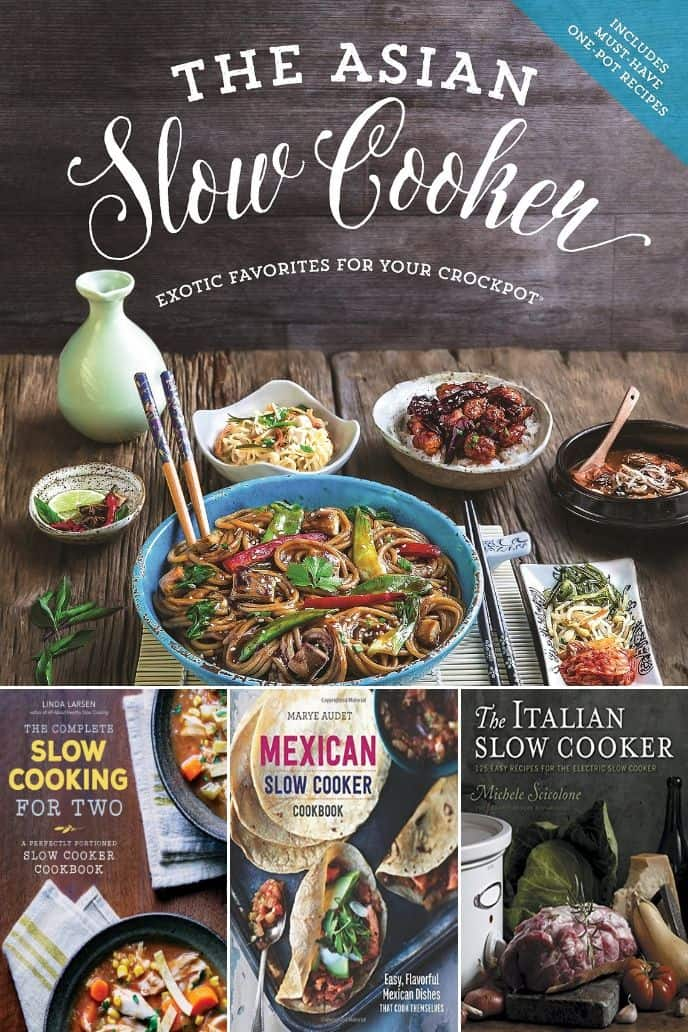 collection of best slow cooker dinner cookbooks