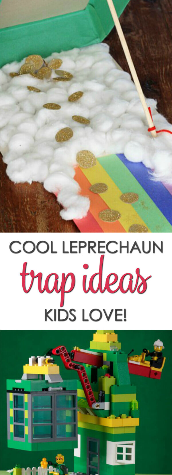 Make thisSt. Patrick's Day extra exciting by creating one of these leprechaun trap ideas kids love! This list has all sorts of cool leprechaun trap ideas that are sure to inspire you.  #itisakeeper #stpatricksday #leprechauntrap