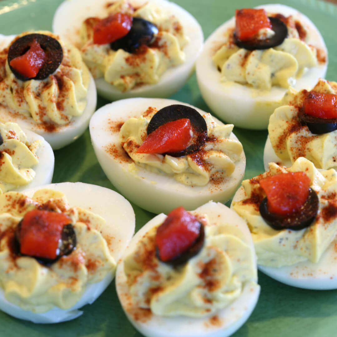 Classic Deviled Eggs - this the best recipe for deviled eggs classic
