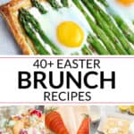 a collection of easter brunch ideas