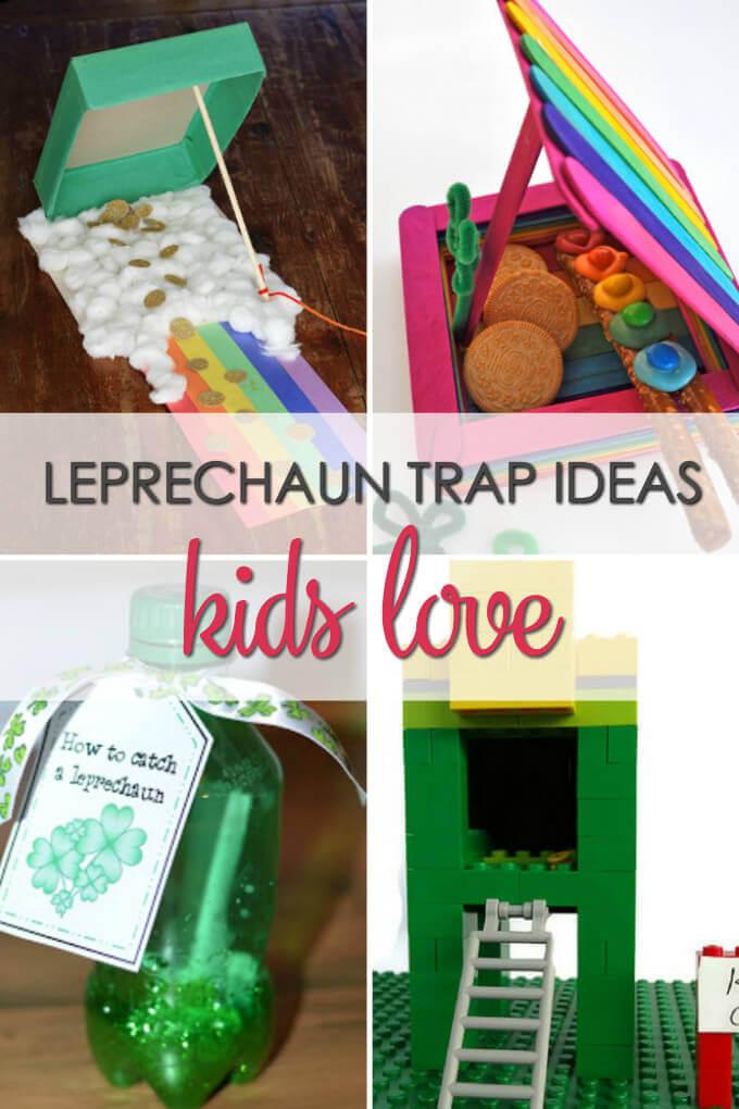 Leprechaun Trap Ideas Kids Love